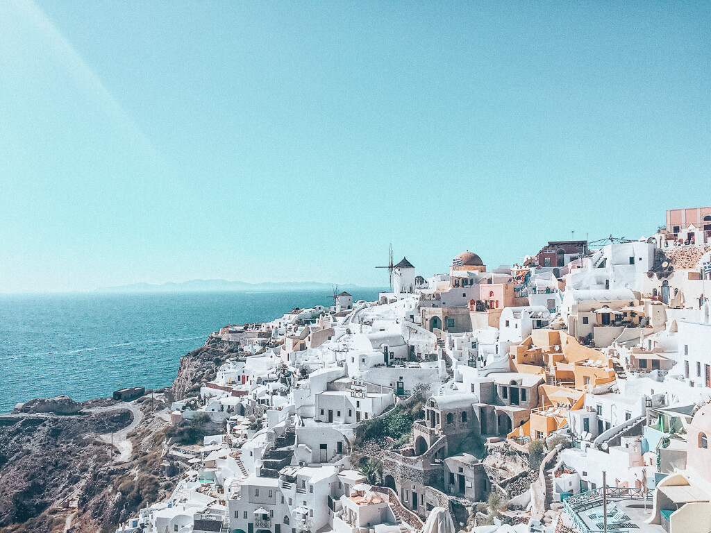 Iconic view of Oia, Santorini