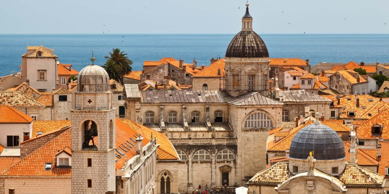 Solo female travel destinations - safety in Dubrovnik Croatia