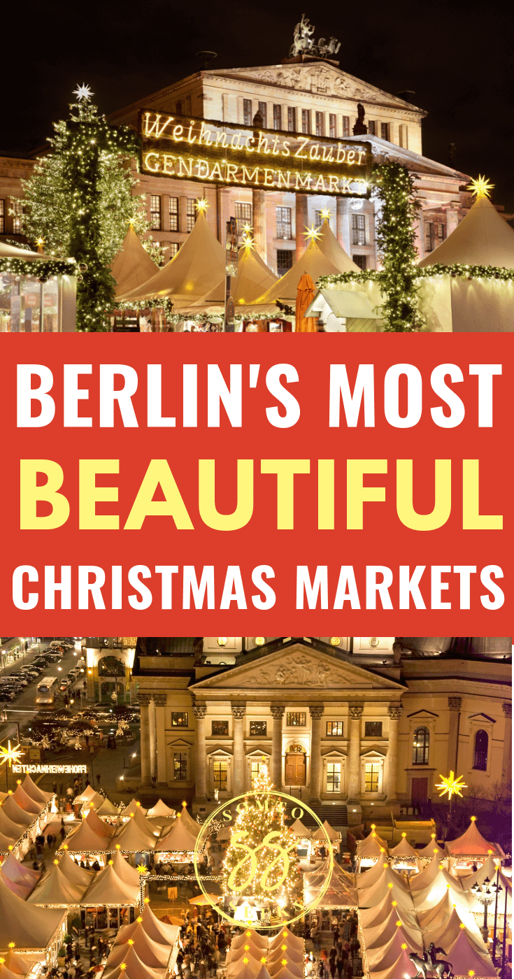 The most beautiful Christmas markets in Berlin, Germany