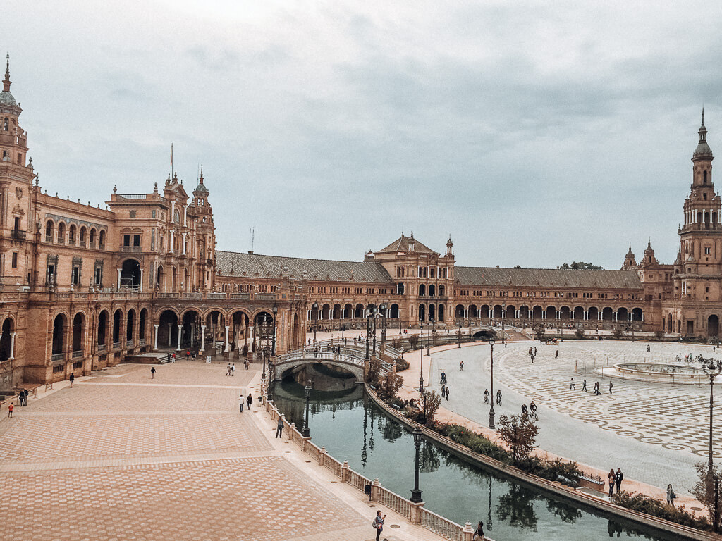 Plaza de Espana in Sevilla