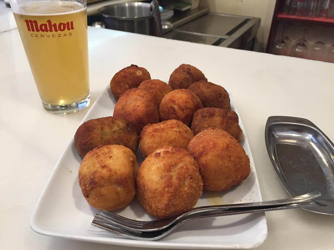 Croquetas at Casa Julio in Malasaña