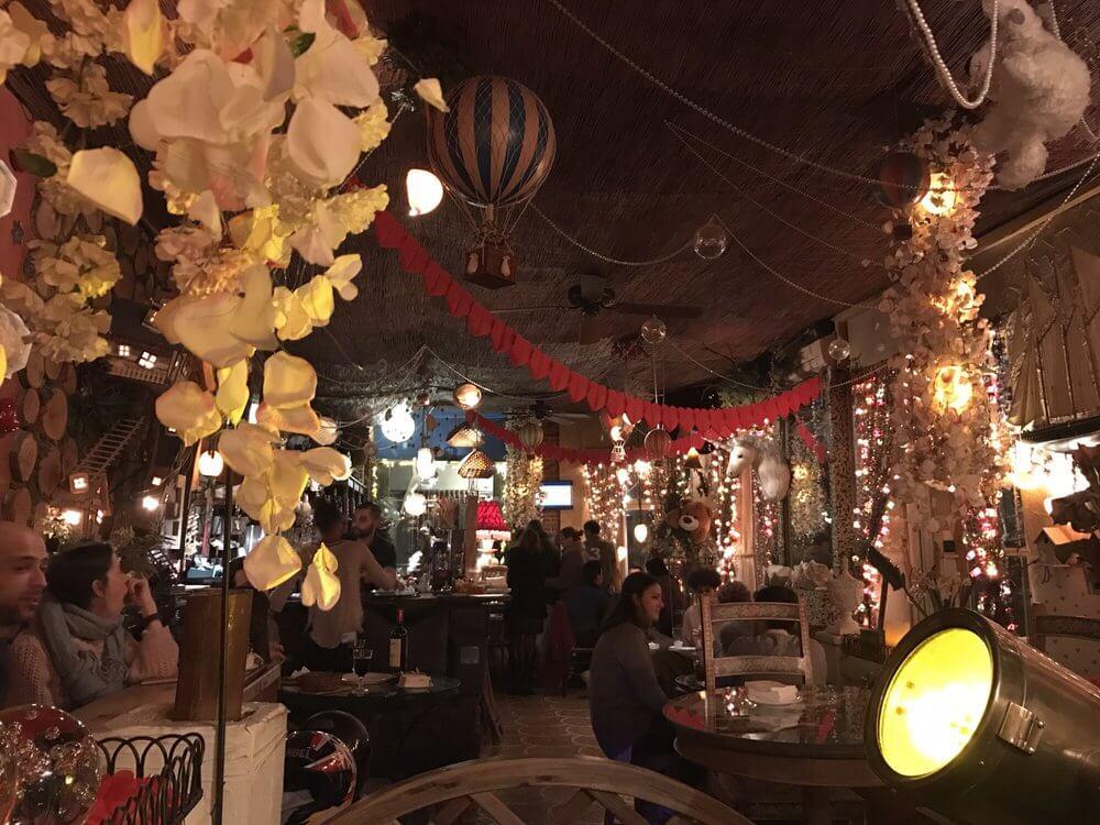 El Jardin Secreto's fairytale-like interior