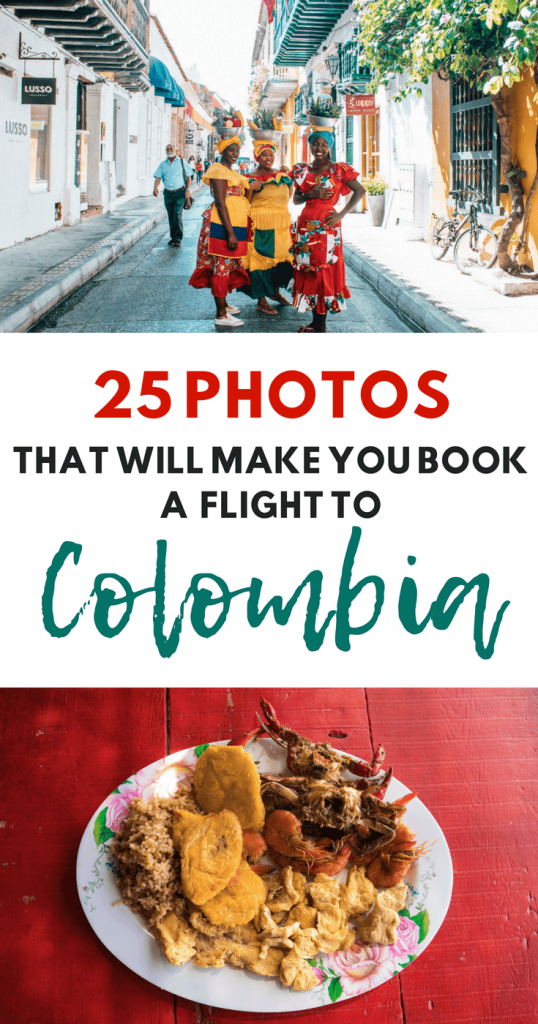 25 Photos That Will Inspire You to Visit Colombia - Palenqueras and Food