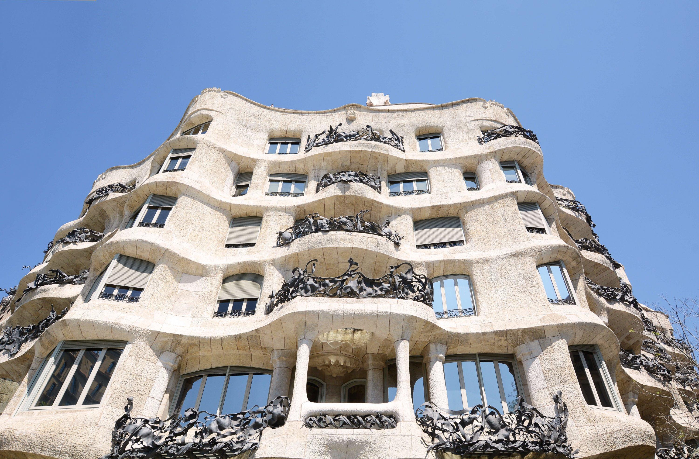 Barcelona Spain Travel - Casa Mila Walking Tour