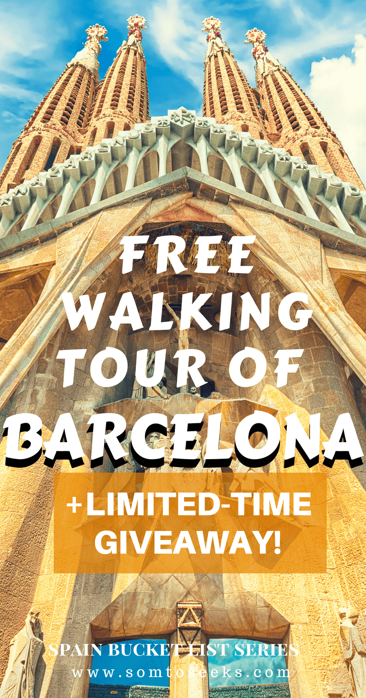 Barcelona Spain Travel - Free Walking Tour of Barcelona and Giveaway.