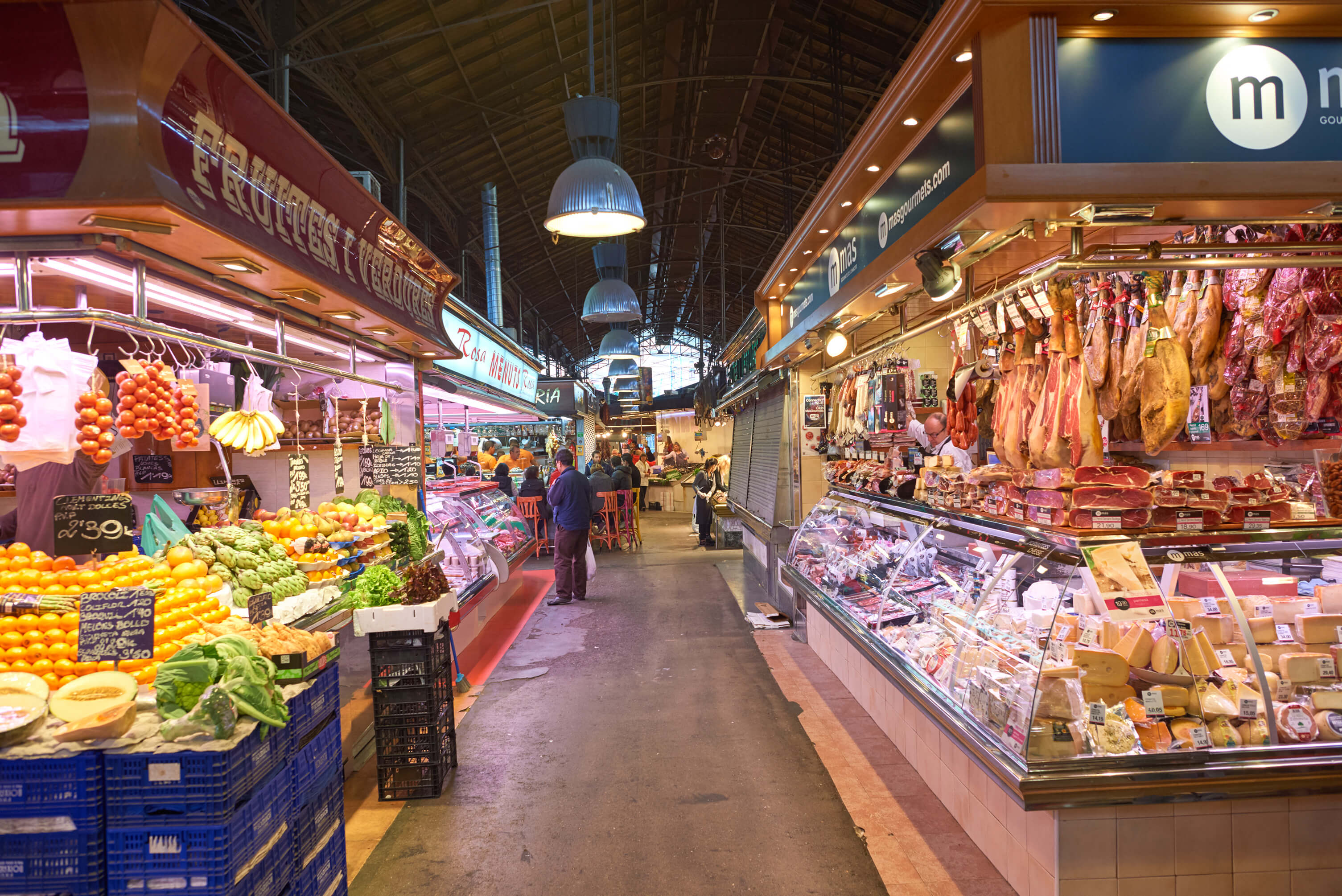 Barcelona Spain Travel - La Boqueria Mercat Walking Tour