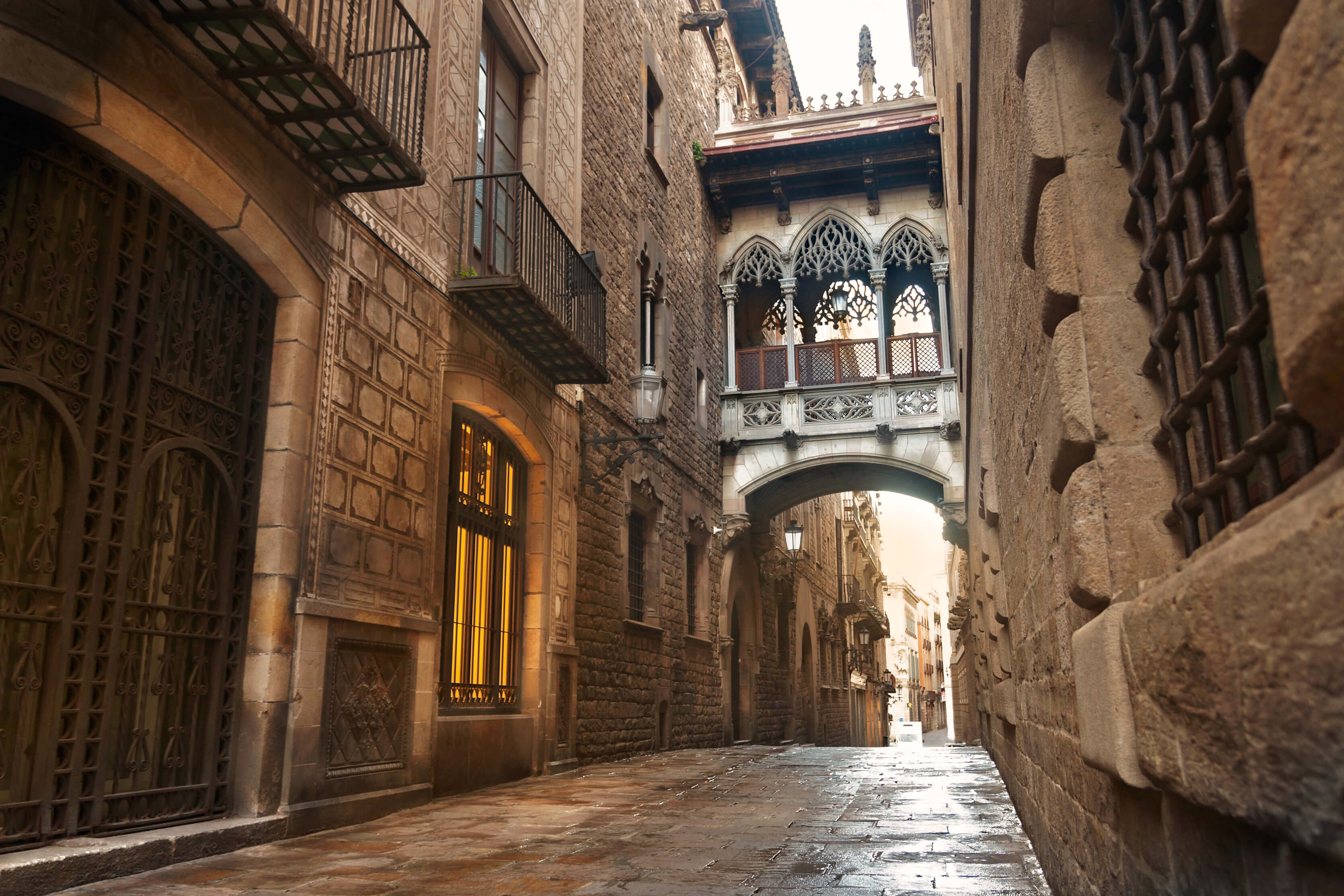 Barcelona Spain Travel - The Gothic Quarter Walking Tour