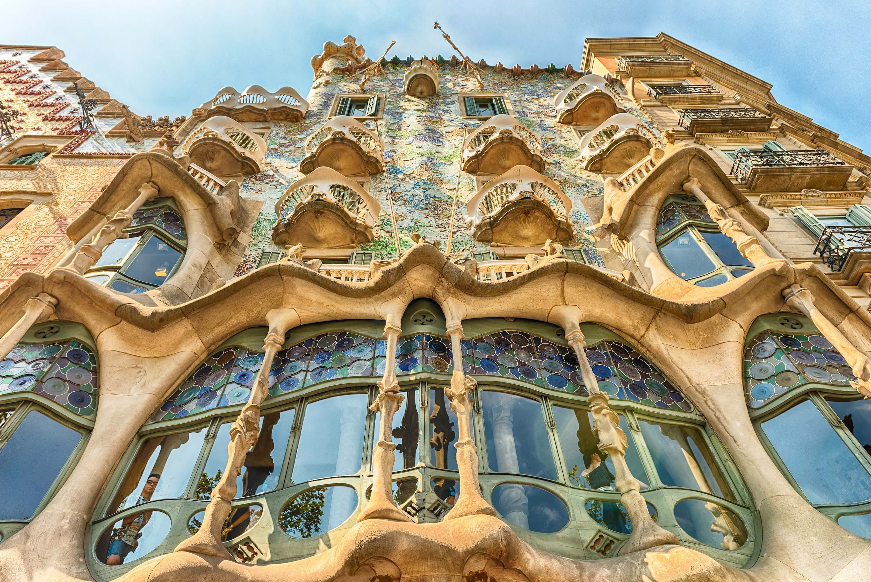 Barcelona Spain Travel - Walking Tour of Barcelona Casa Batlo