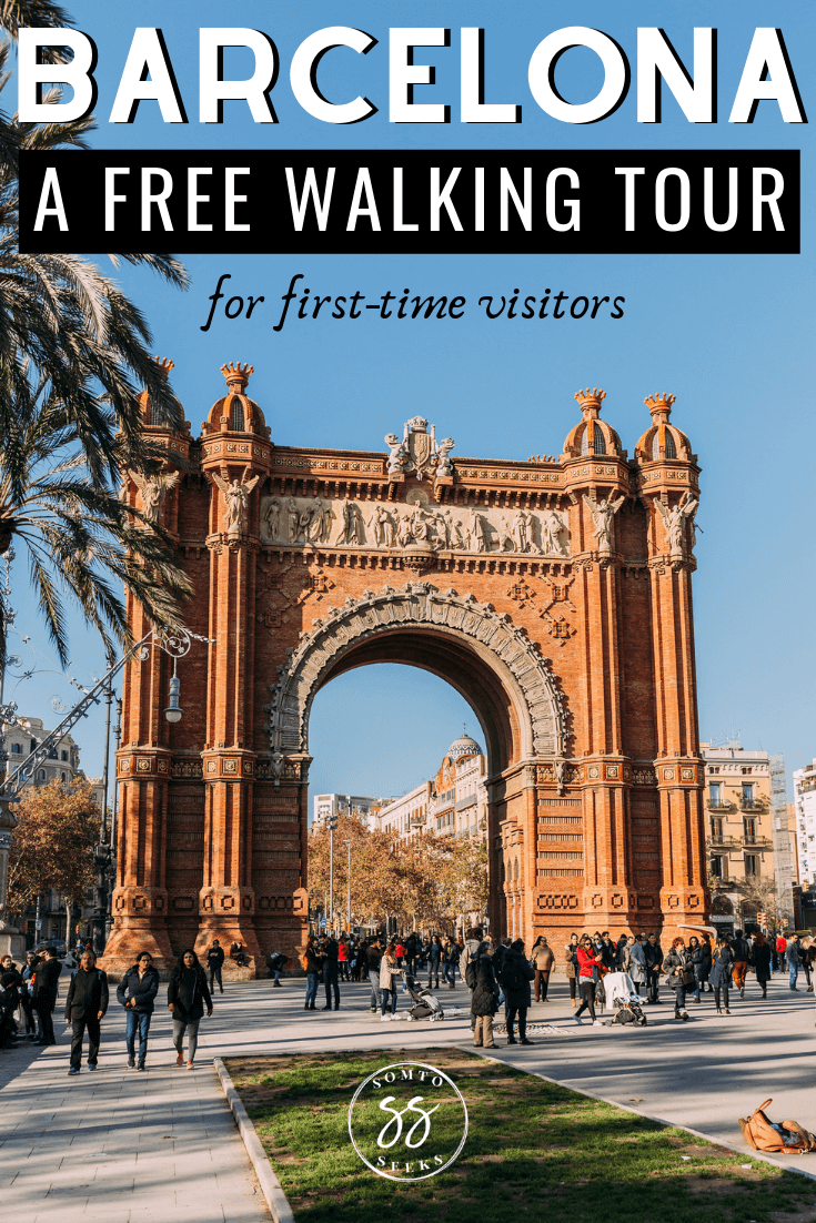 Barcelona free walking tour for first time visitors