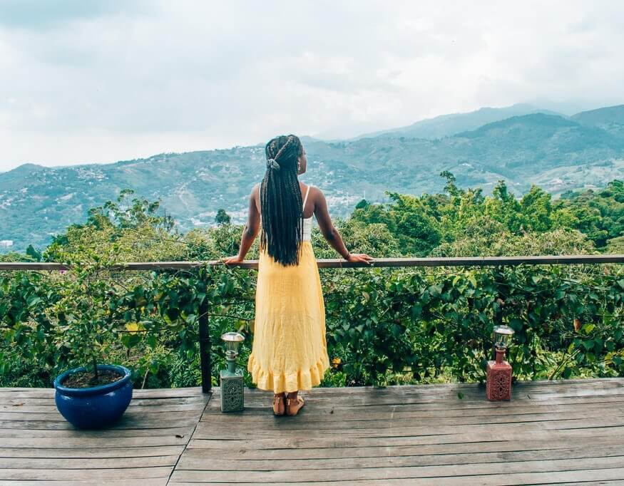 Colombia bucket list - beautiful surroundings of Cali