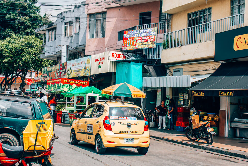 Colombia travel bucket list - ordinary street in Cali