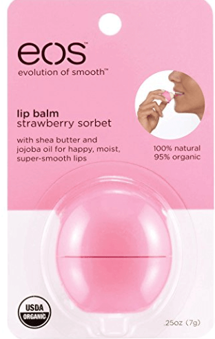 Travel Essentials - Eos Lip Balm