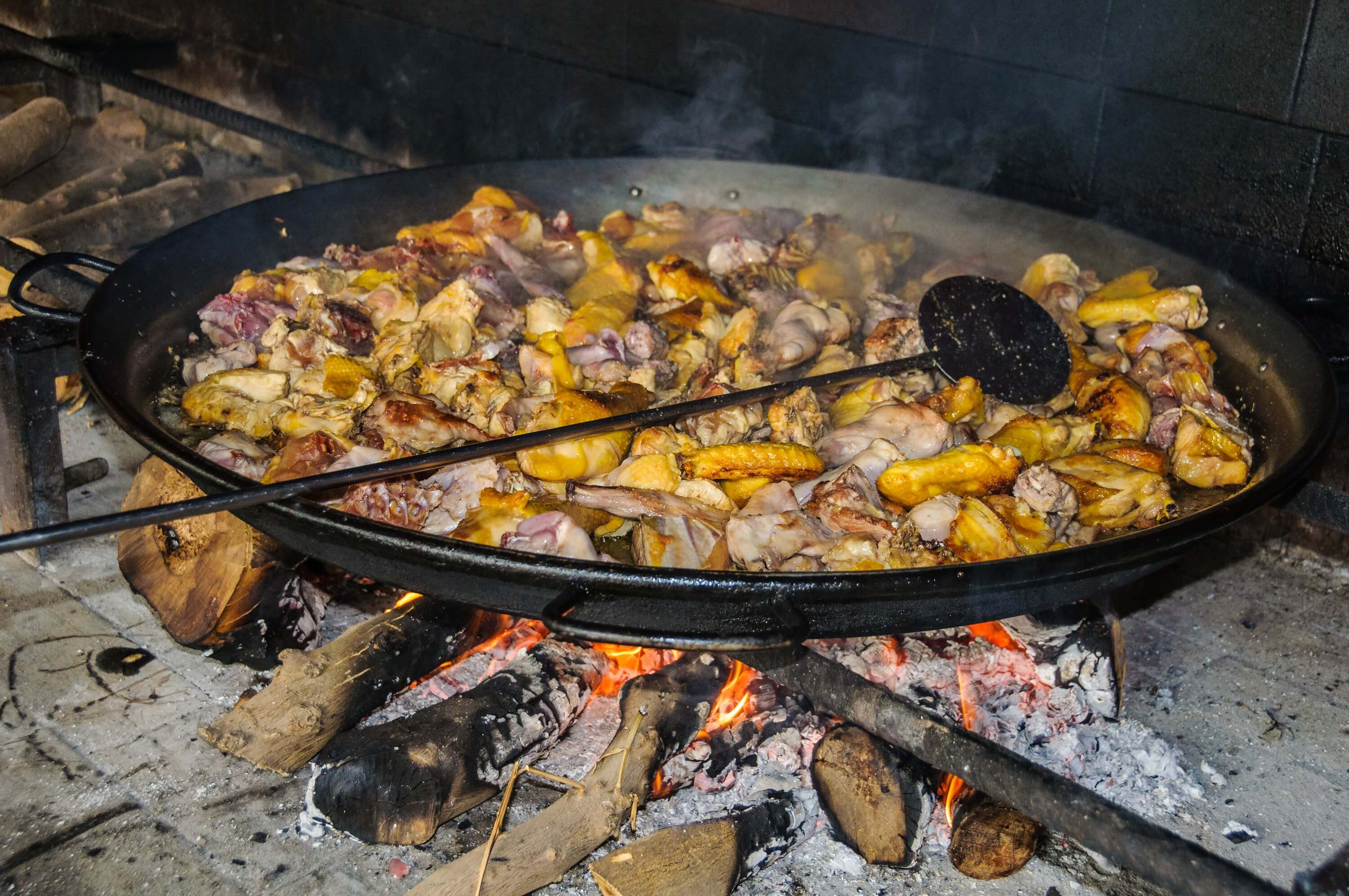 10 Travel Tips You Need to Know Before Vsiting Spain - Paella in Preparation