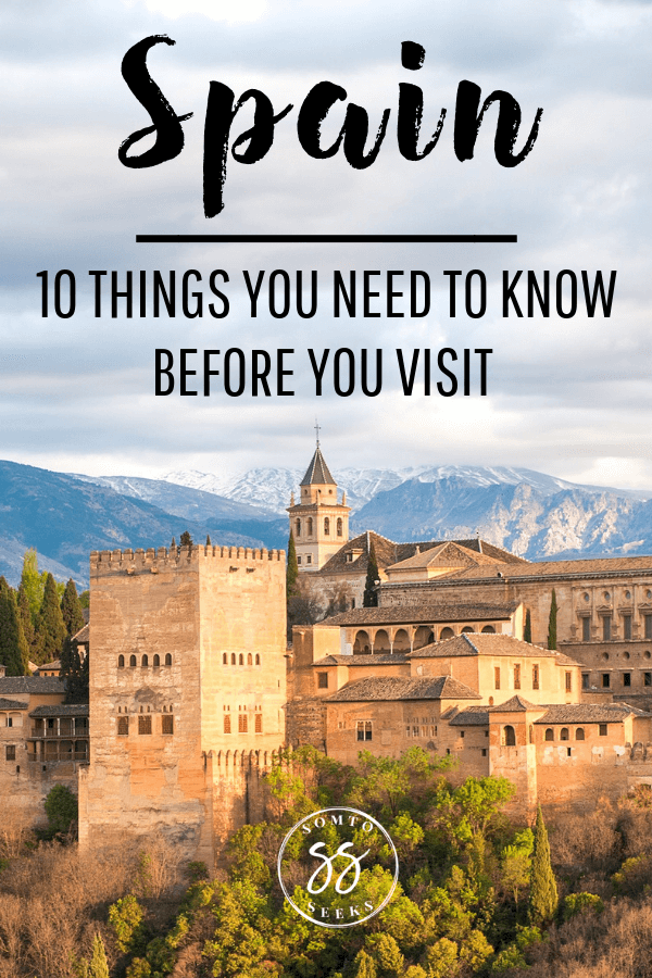 10 things to do before visiting Spain - Travel guide for first timers