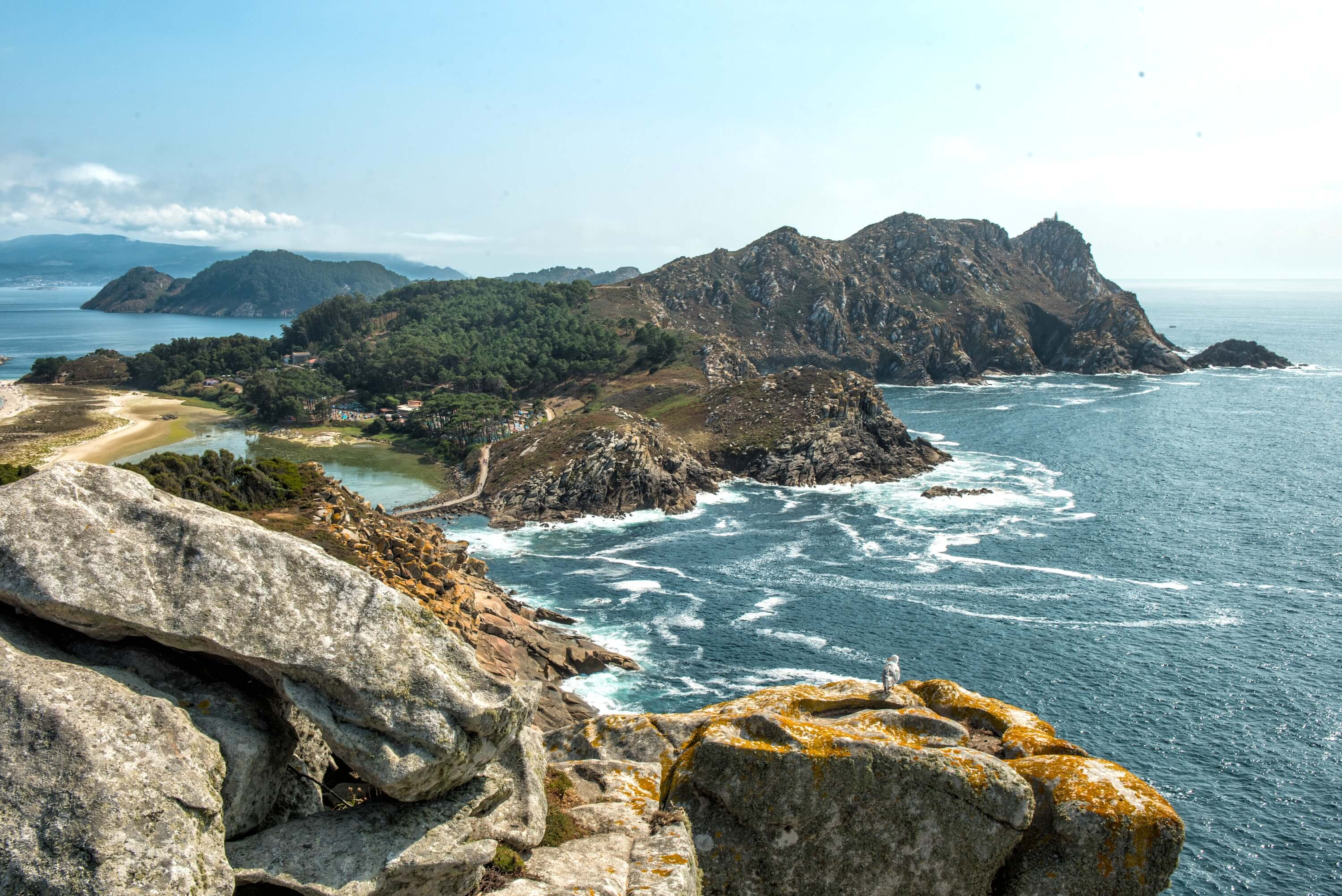 20 photos that will inspire you to visit the Cies Islands - Galicia Travel Spain Landscape of the Cies Islands