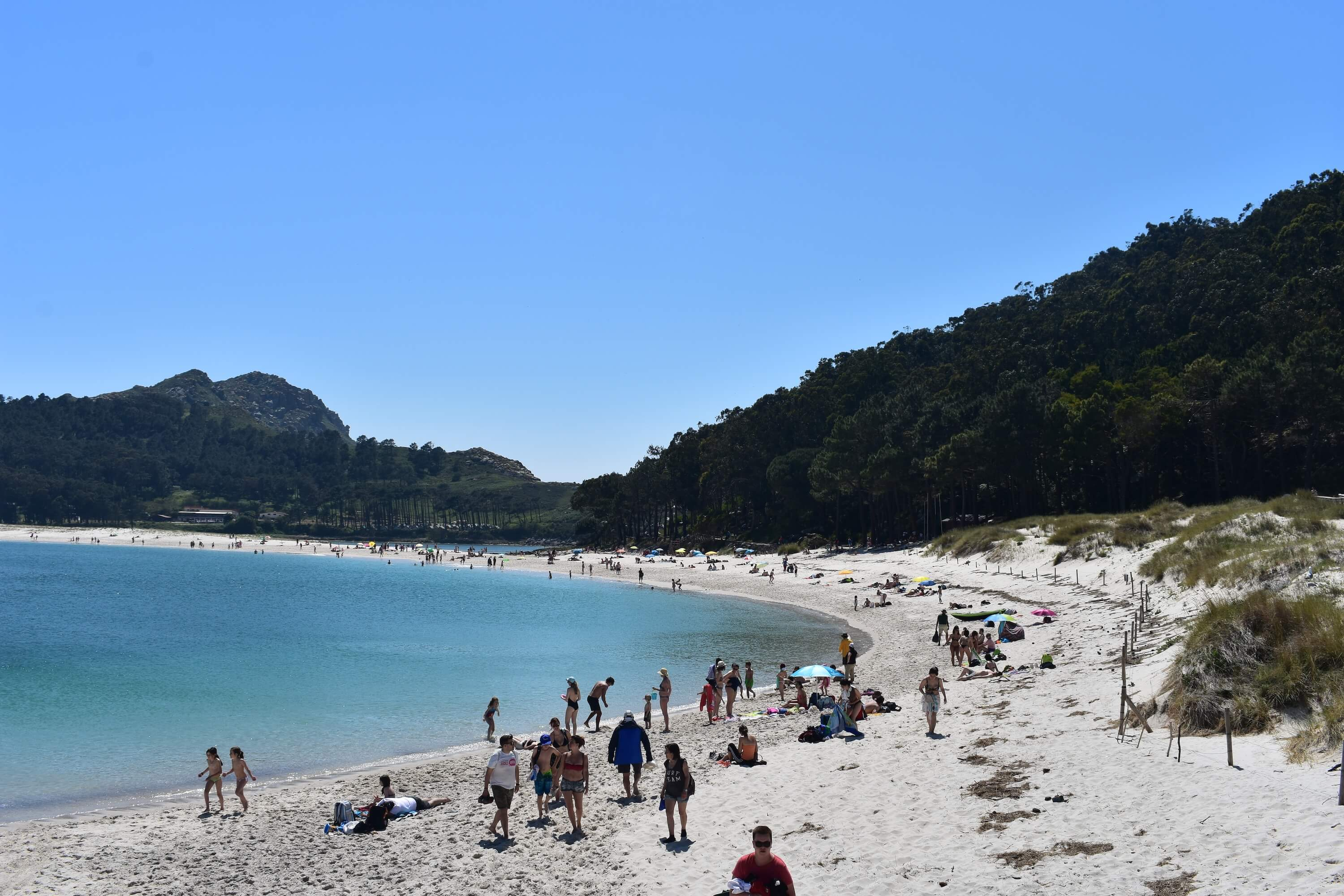 15 Photos to Inspire You to Visit the Cies Islands - Galicia Spain Travel Rodas Beach