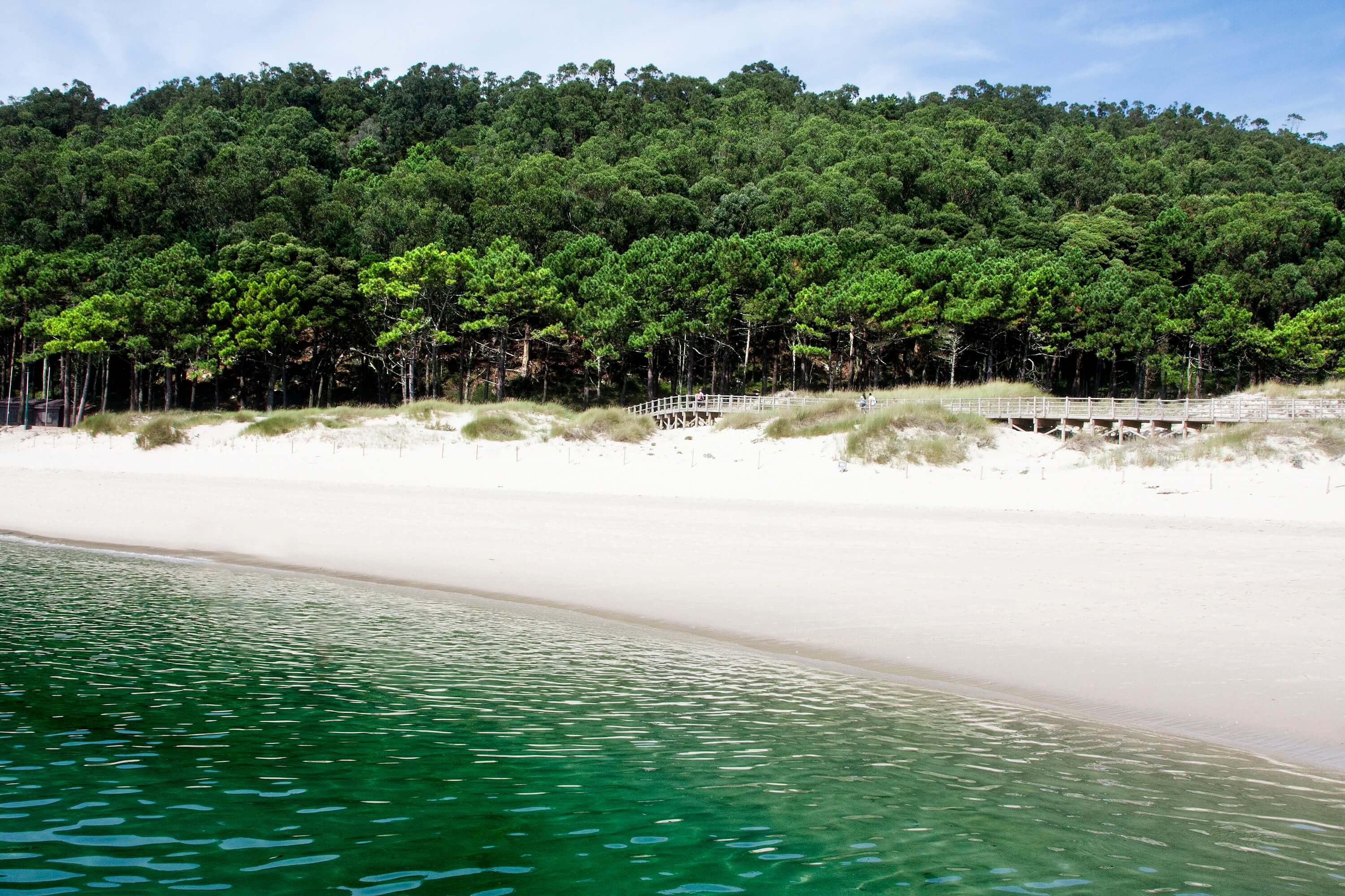 20 photos that will inspire you to visit the Cies Islands - Galicia Travel Spain Beautiful View of Rodas Beach