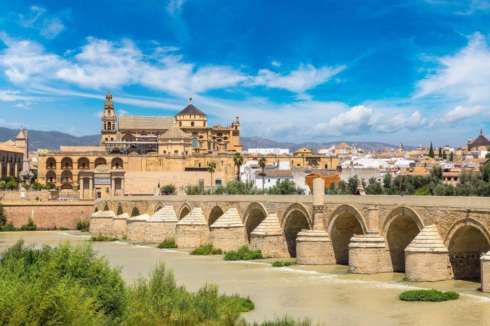8 Beautiful Places to Visit in Spain - Roman Bridge in Cordoba