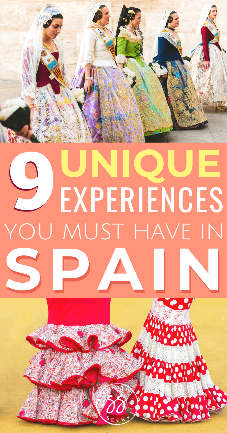 9 unique experiences you must have in Spain - Bucket list