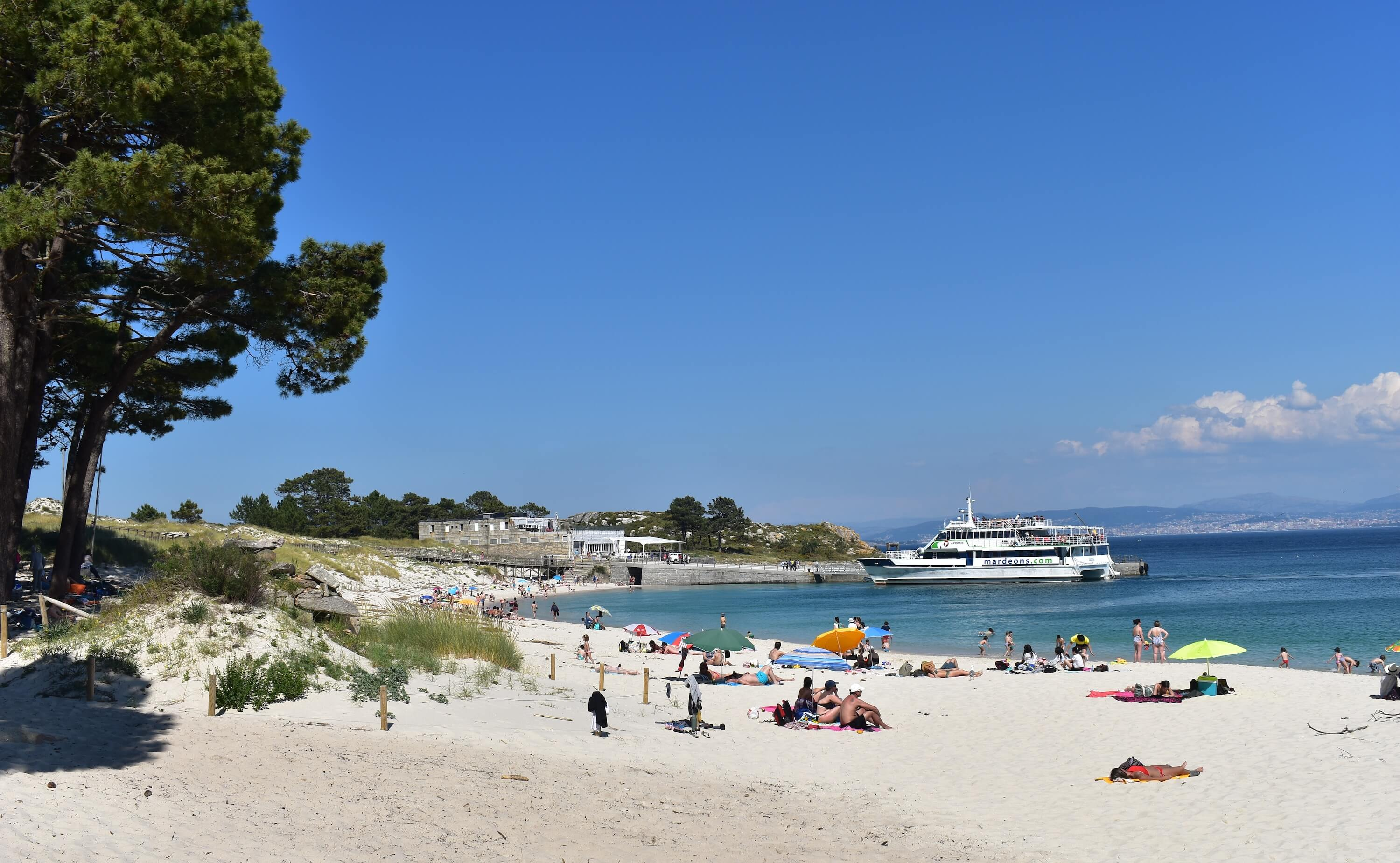 20 Photos to Inspire You to Visit the Cies Islands - Galicia Spain Travel Relaxing at Rodas Beach