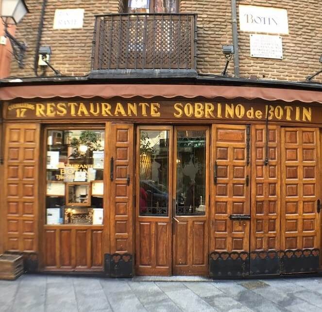 El Botin Restaurant - 9 Experiences You Must Have in Spain
