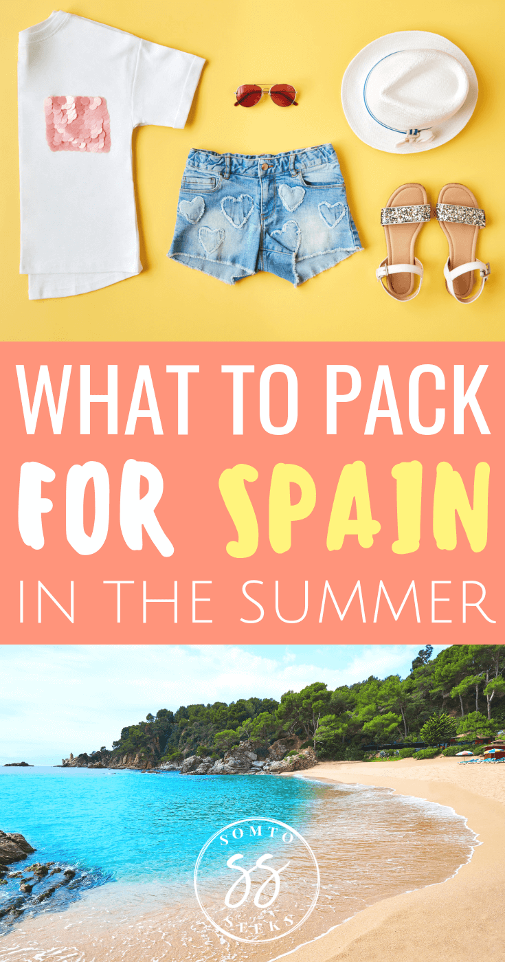 What to pack for summer in Spain