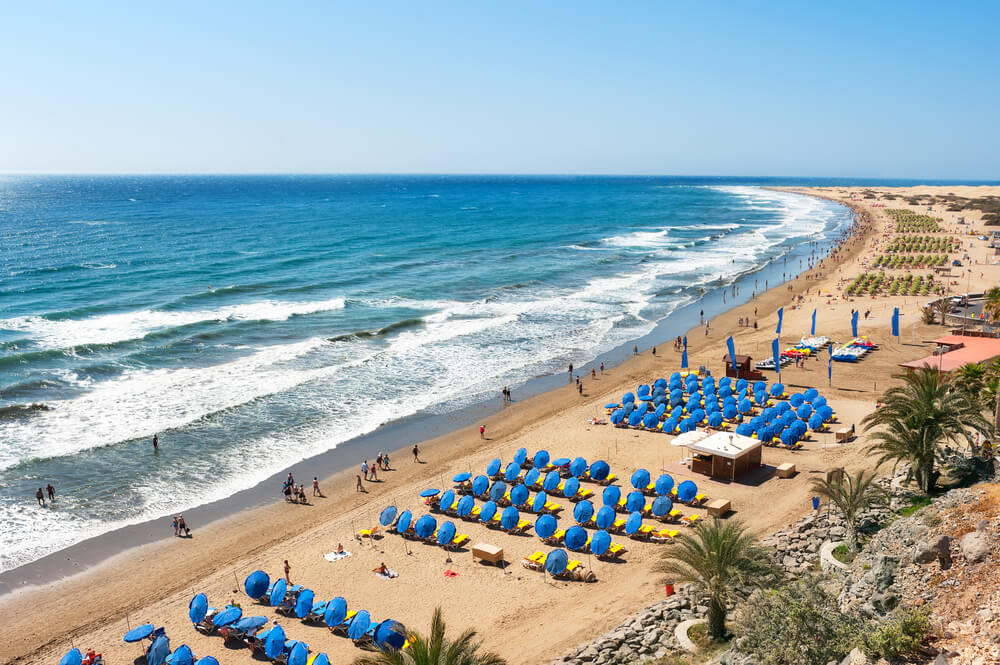 10 best beaches in Spain to visit before you die - Playa del Ingles