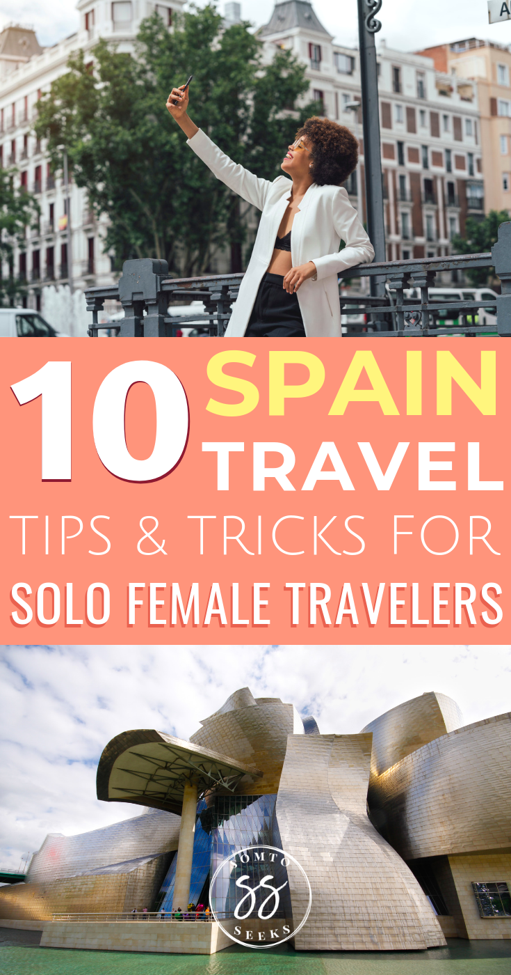 Spain travel tips for solo female travelers