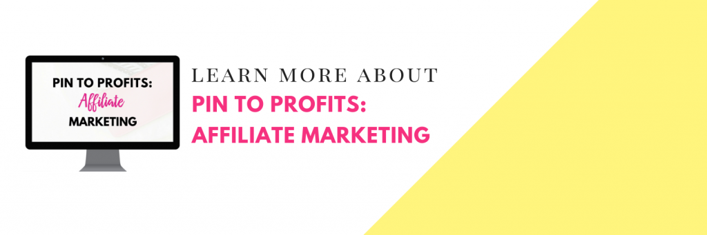 Marketing d'affiliation sans blog - En savoir plus sur Pin To Profits