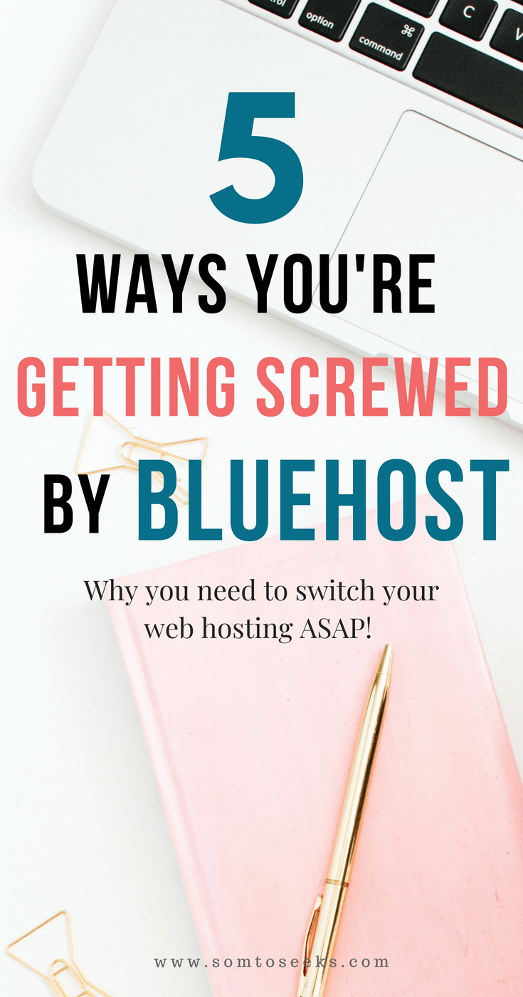 Bluehost vs Siteground - Why Bluehost Is Terrible For Your WordPress Blog and Why You Should Choose Siteground