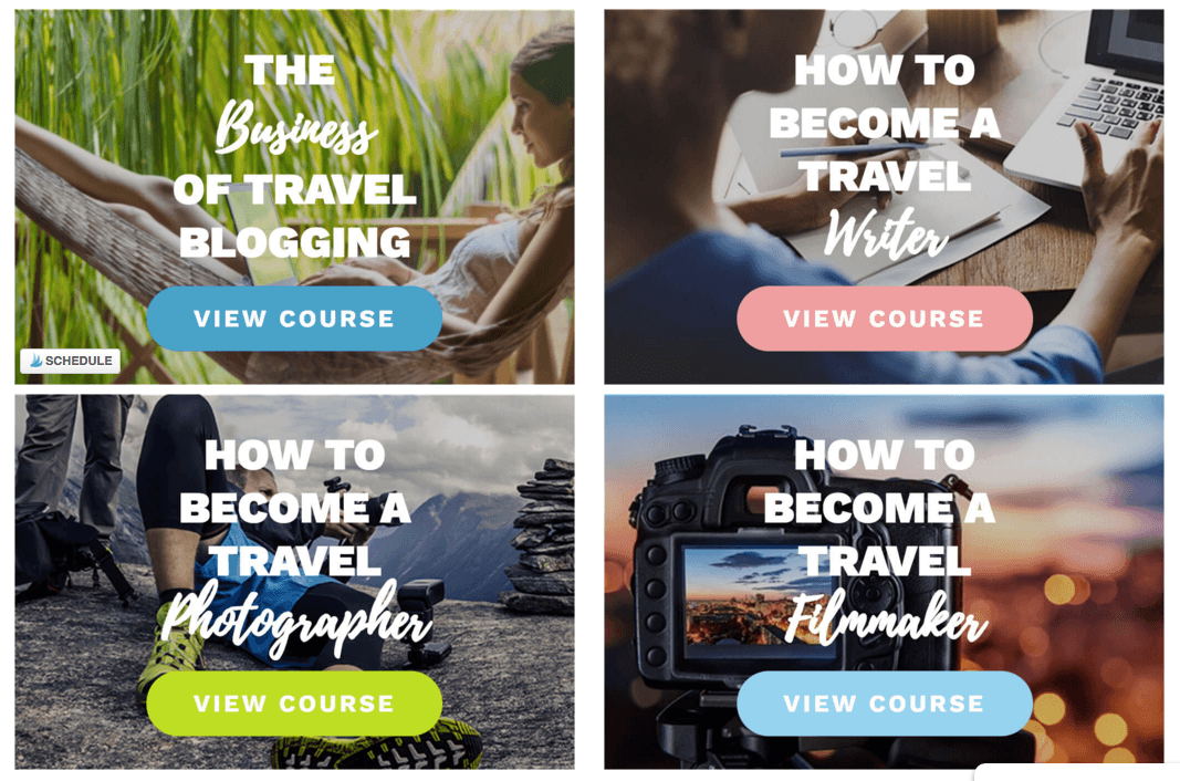 Get Paid to Travel - Superstar Blogging Courses