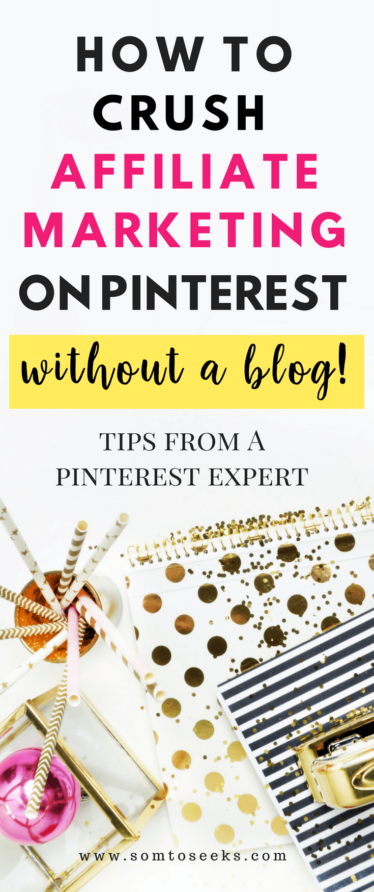 Comment faire du marketing d'affiliation sur Pinterest sans blog - conseils de Pinterest Expert