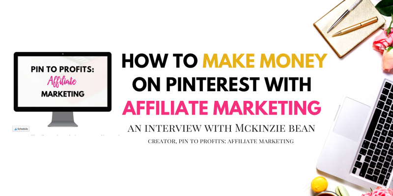 How to make money on Pinterest with affiliate marketing