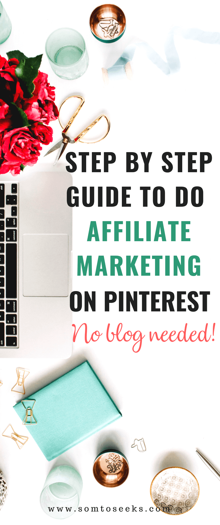 Step By Step Guide To Do Affiliate Marketing on Pinterest - No Blog Needed