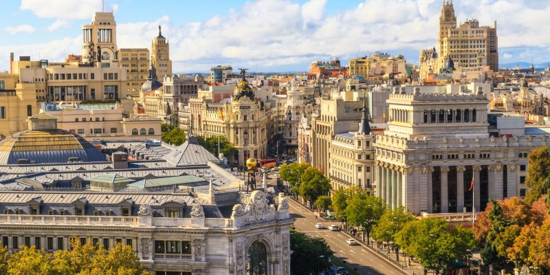 The Ultimate Spain Travel Guide - Skyline of Madrid