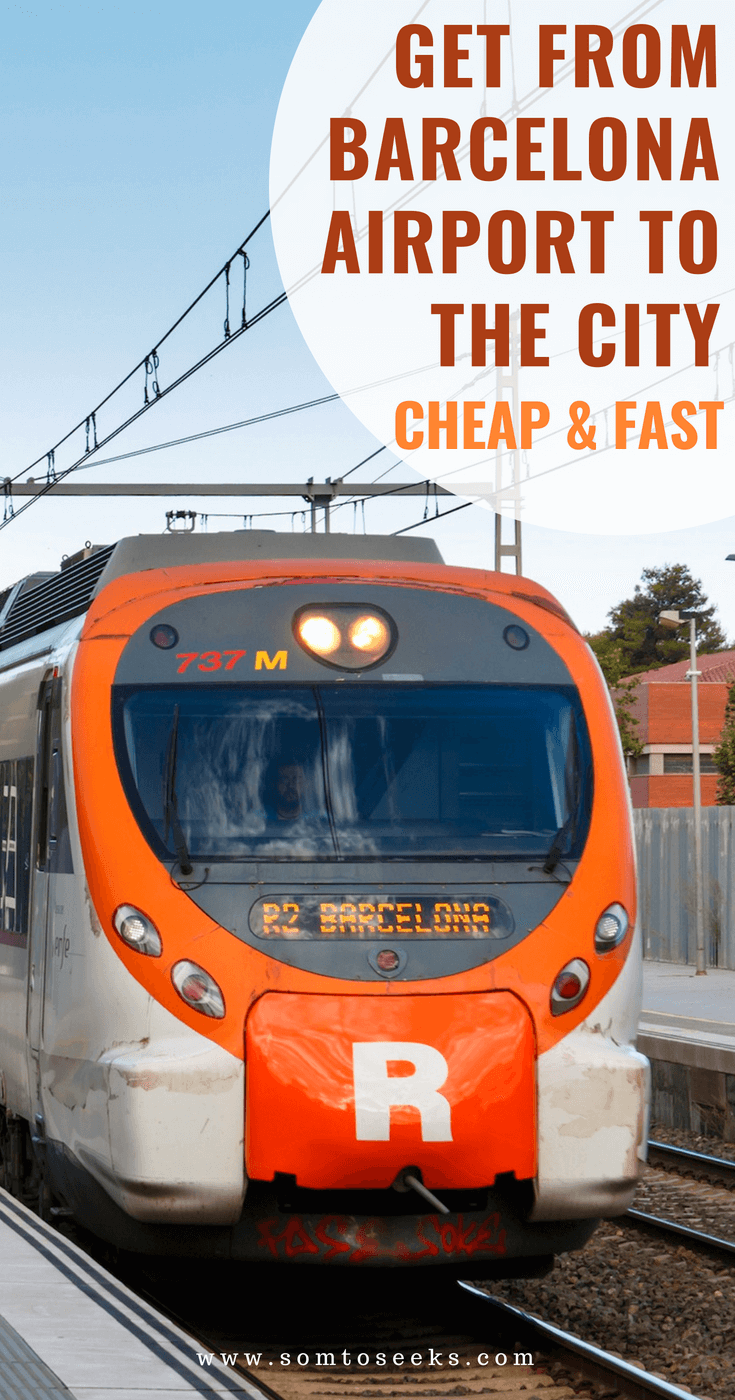 Get from Barcelona Airport to the city center fast and cheap