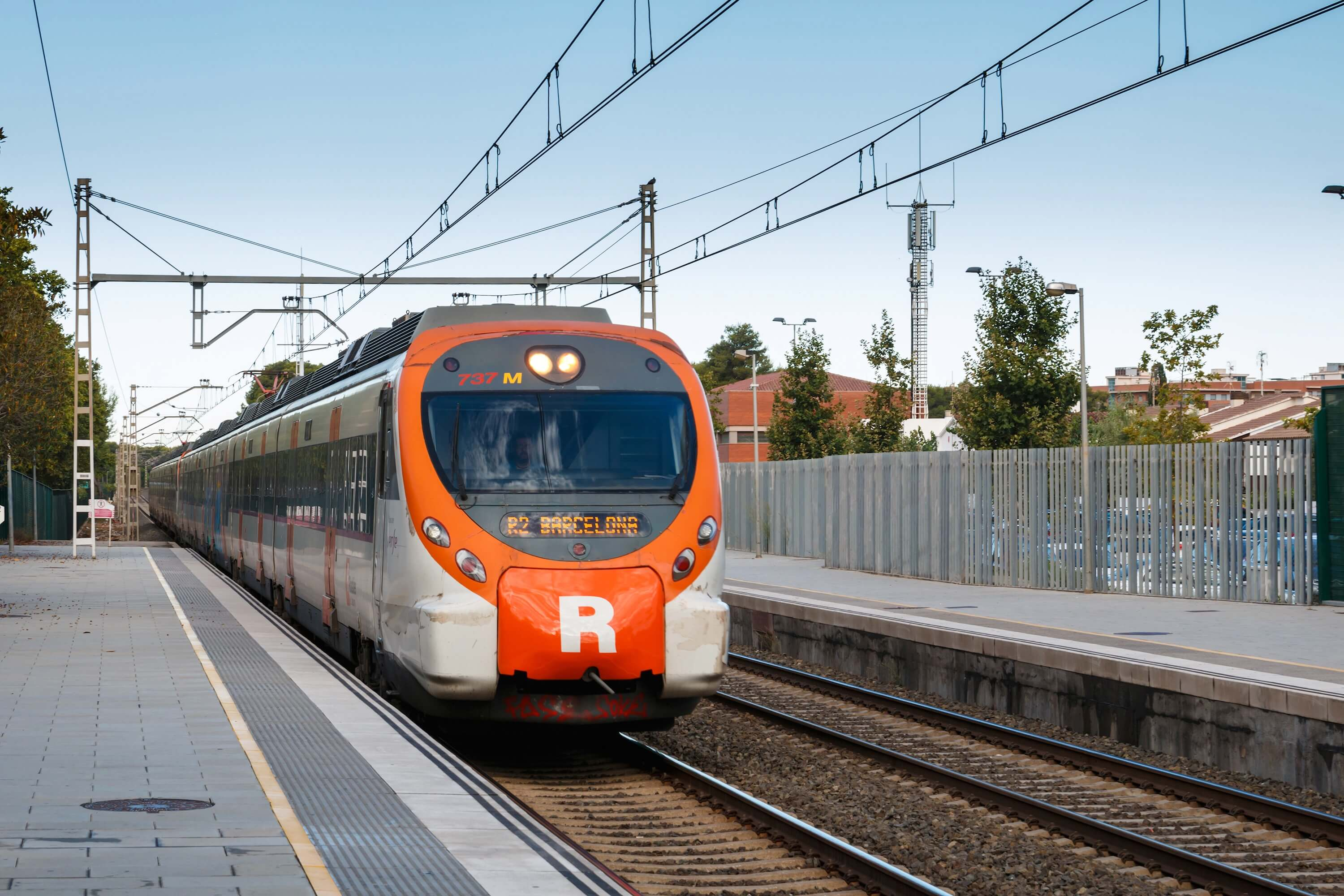 Christmas traditions in Barcelona - Renfe Rodalies Train
