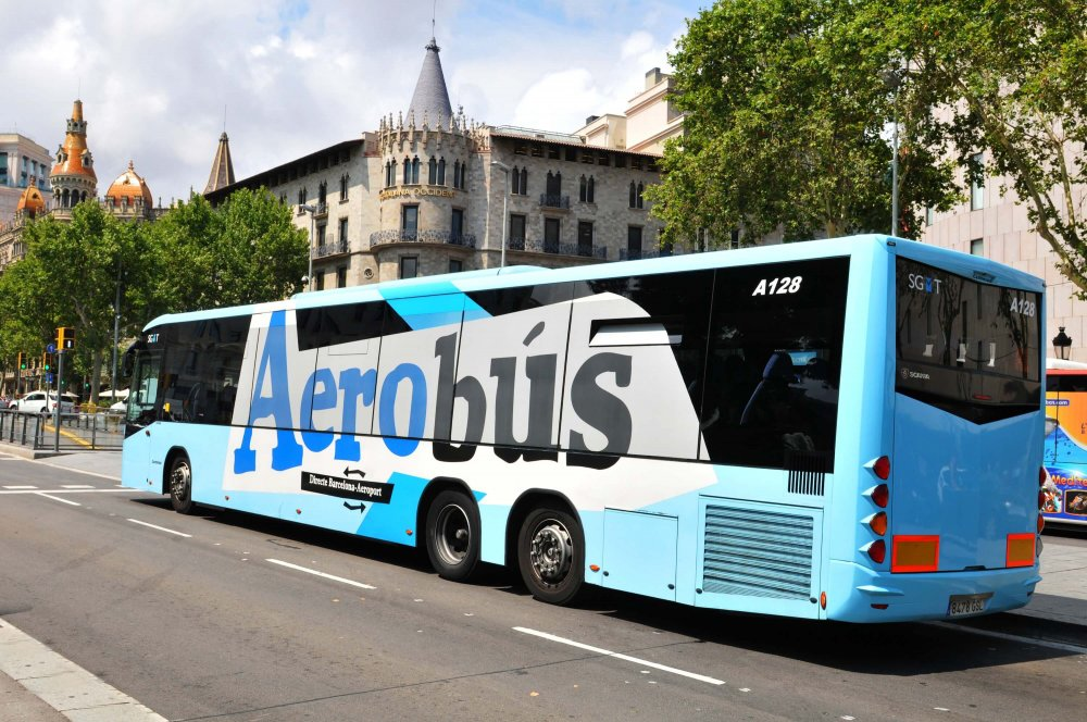 How to get from barcelona airport to the city center - Aerobus