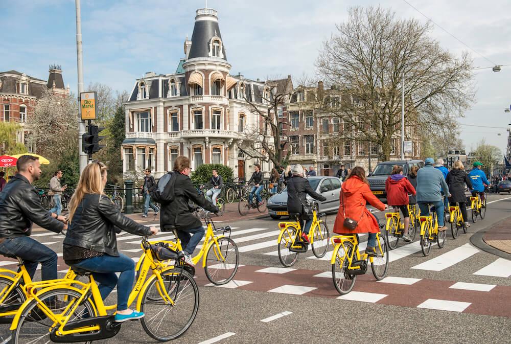 Weekend in Amsterdam guide - bike tour