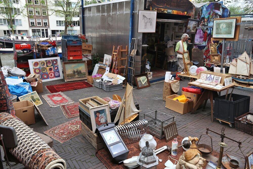 Weekend in Amsterdam guide - flea market