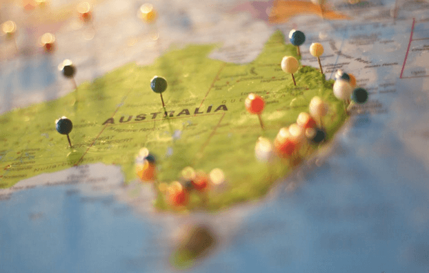 3 Underrated Travel Destinations in Austrailia - Map of Australia