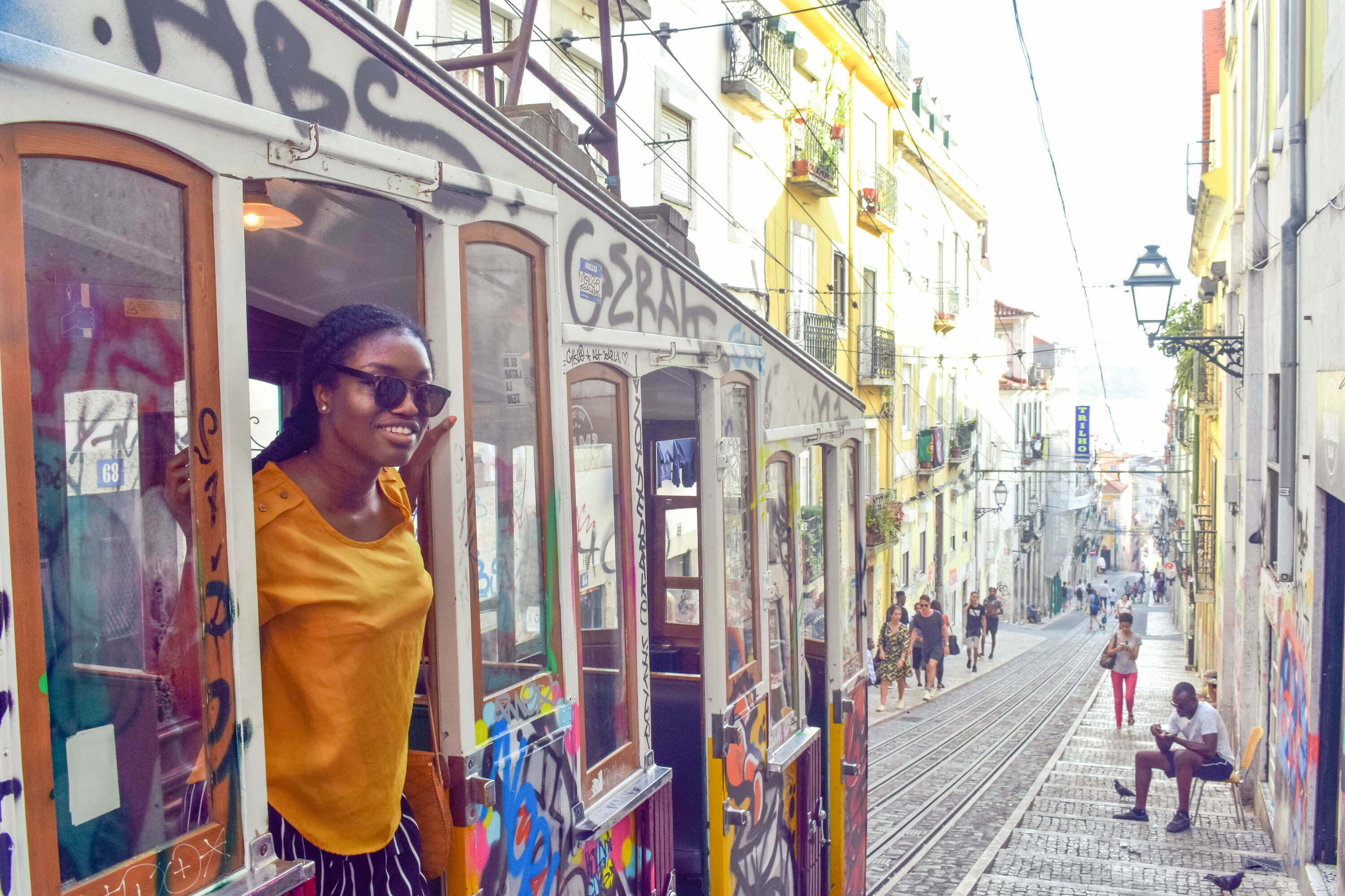 Friendliest Countries in Europe for Black Travelers - Lisbon trolley