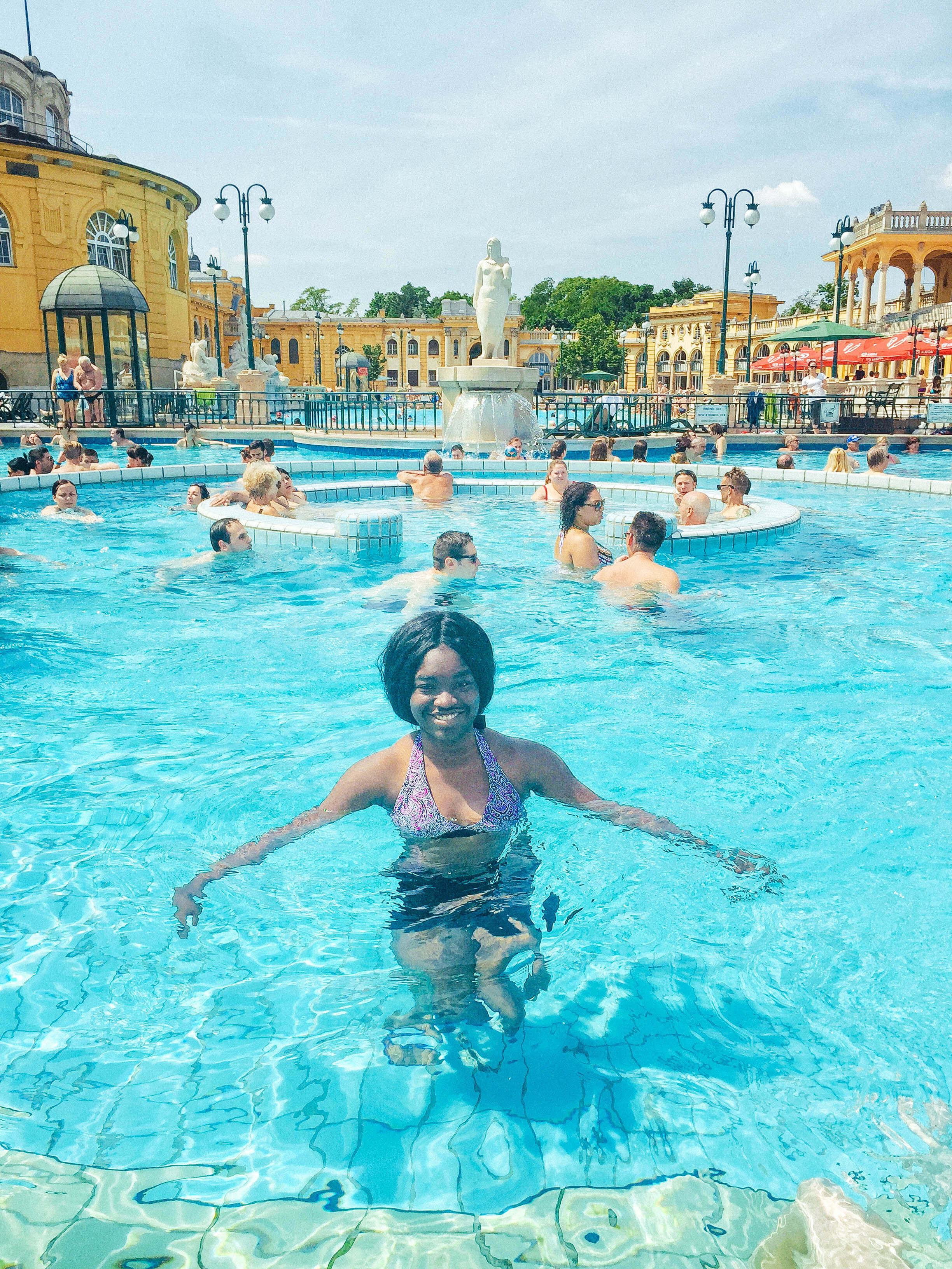 Friendliest countries for black travelers - Schezenyi bath swim