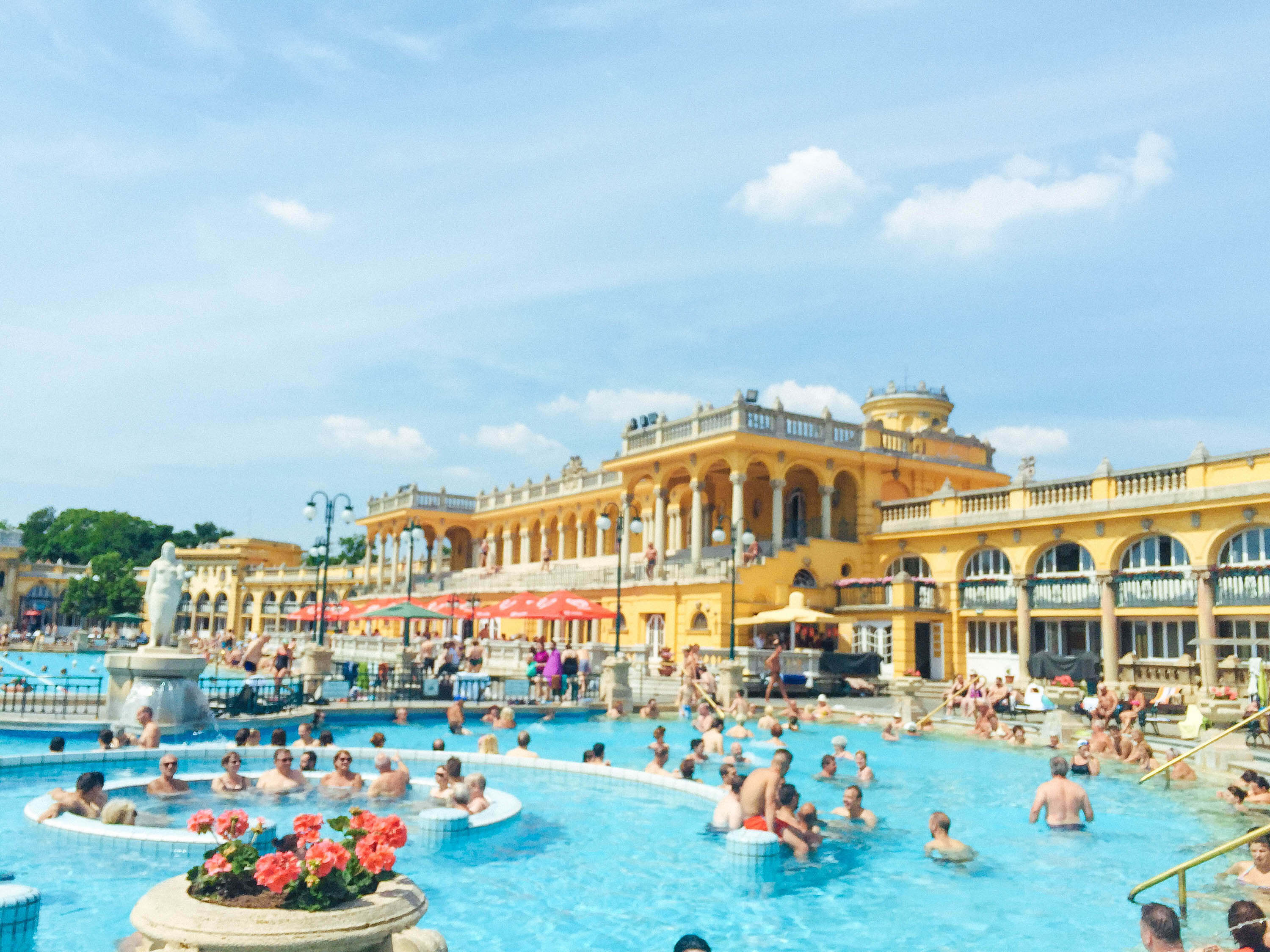 Friendliest countries for black travelers - Schezenyi bath