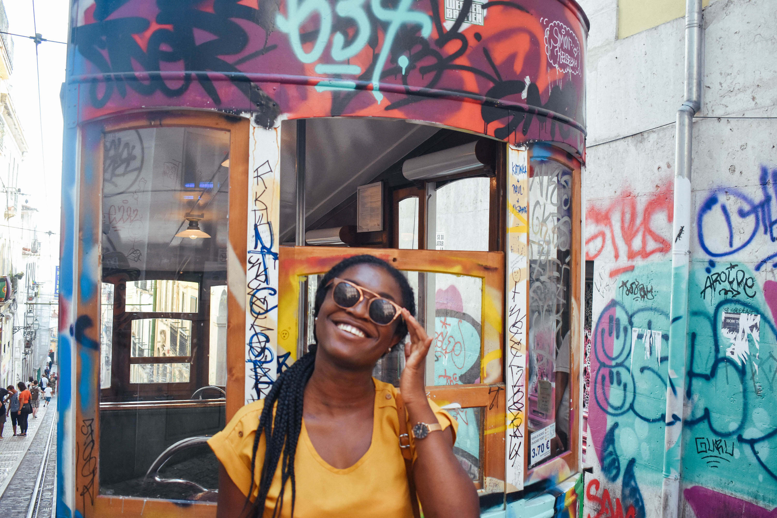 Friendliest countries in Europe for black travelers - Portugal Rua da Bica