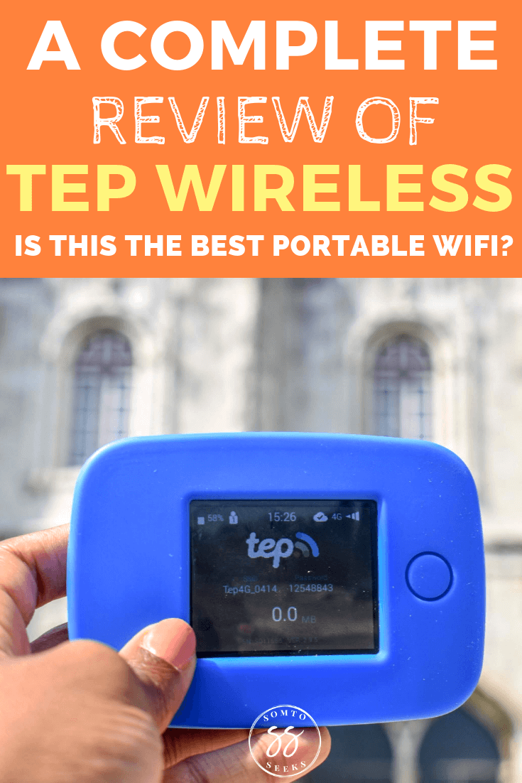 Tep Wireless Portable Wifi Review - pros and cons of pocket wifi device