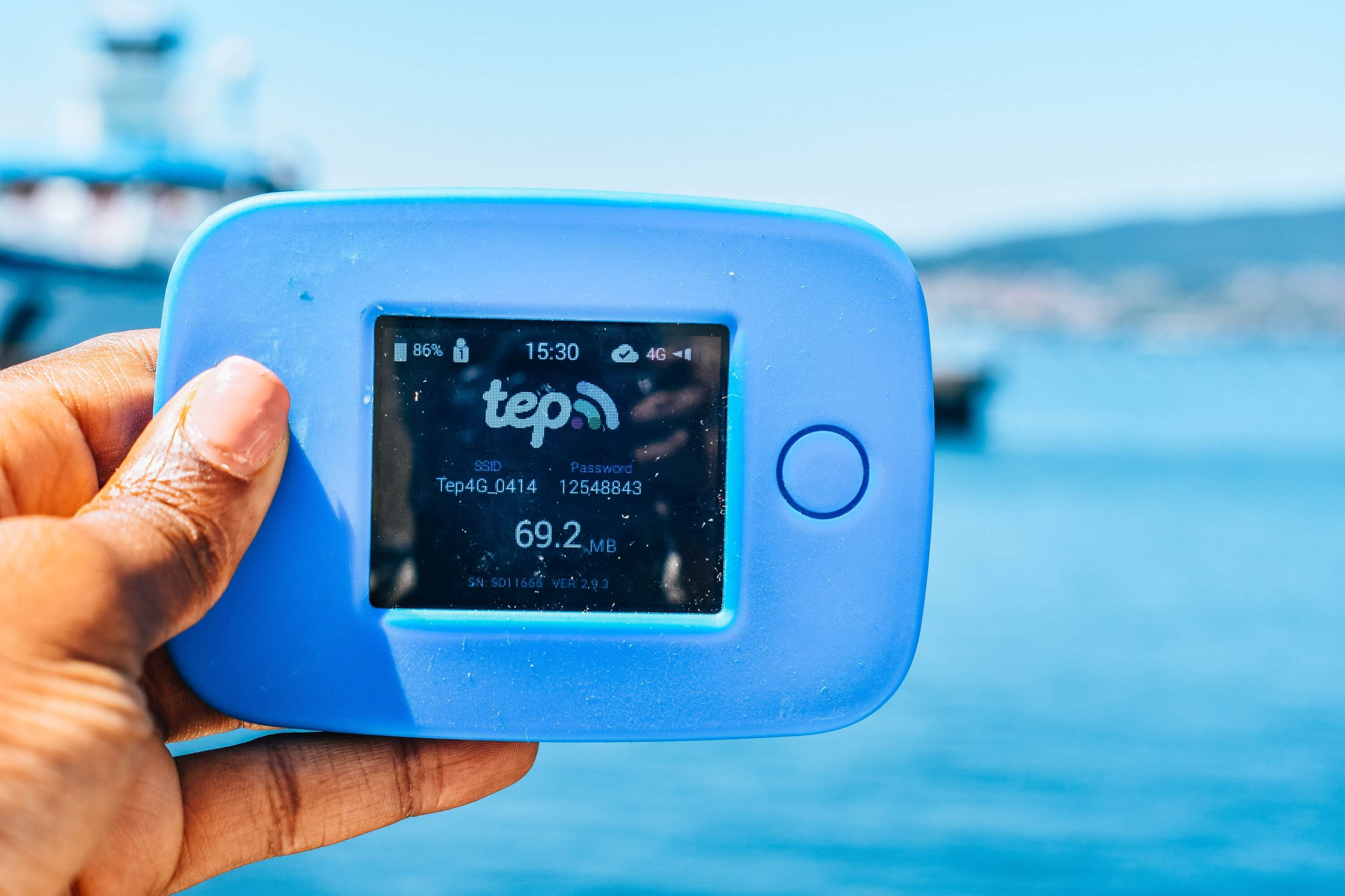 Tep Wireless Review - Using the Teppy in Vigo, Spain