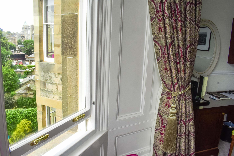 The Bonham Hotel Review - Curtains