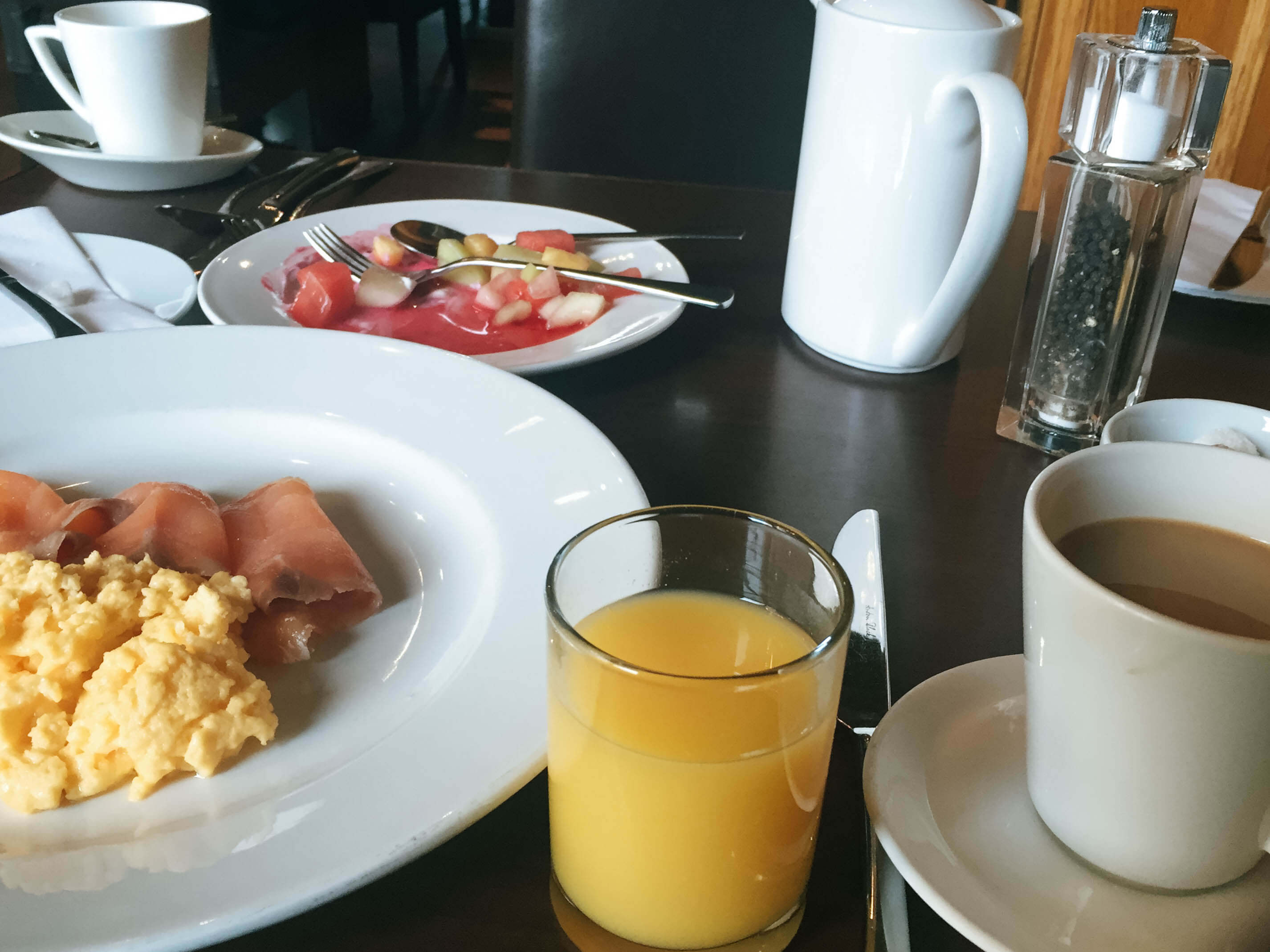 The Bonham Hotel Review - Full Breakfast