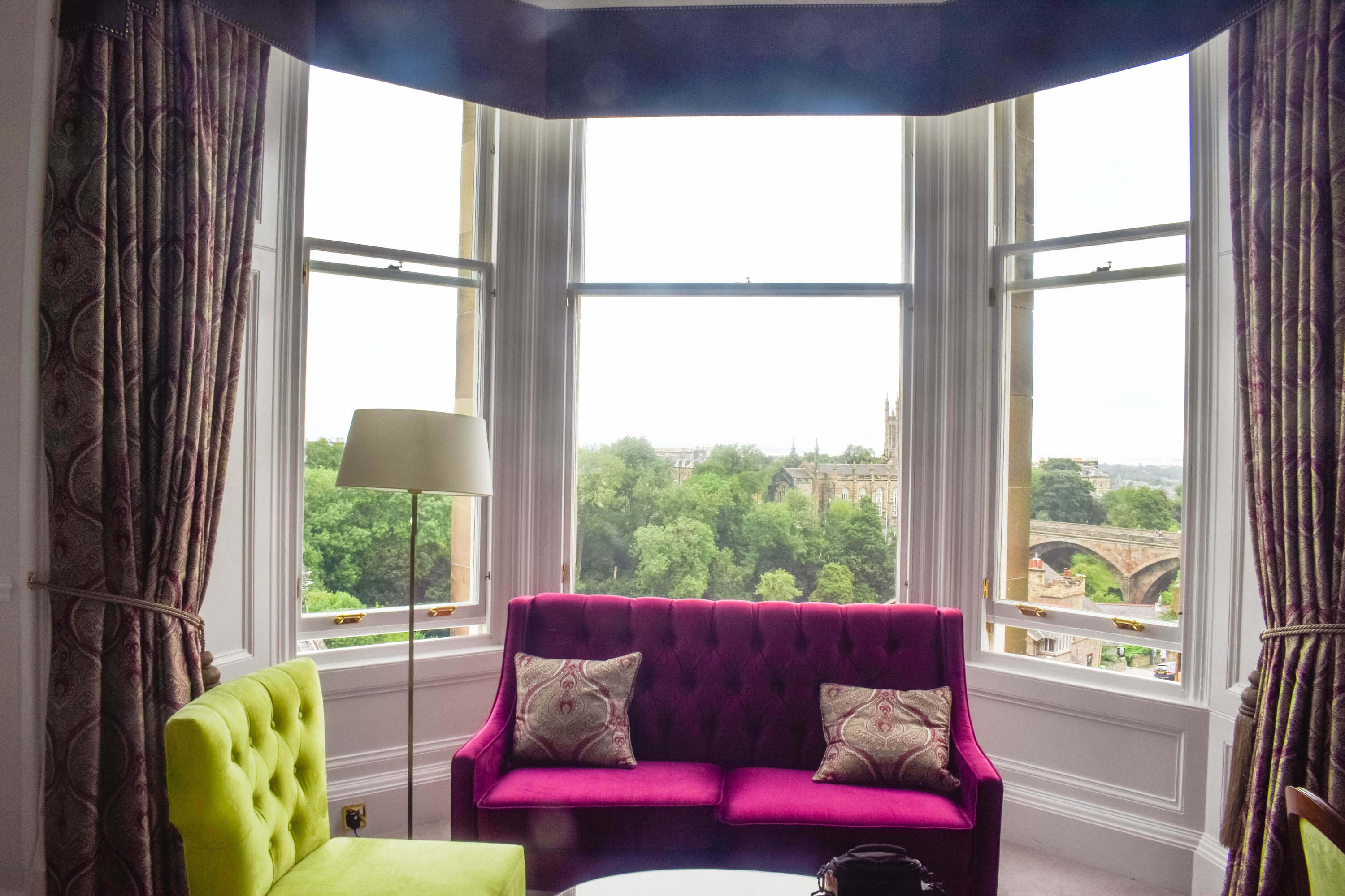 The Bonham Hotel Review - The Window View